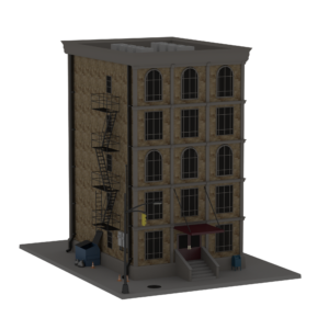 Modular Building Game Asset