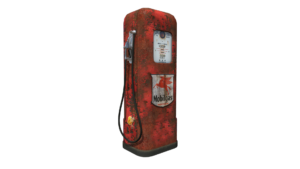 Gas Pump 3D Asset