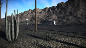 Desert Gas Station