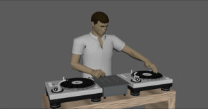 DJ Rigging and Animation